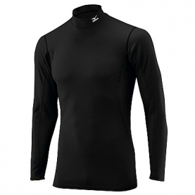 MIZUNO BREATH THERMO MAGLIA COLLO ALTO ML MID WEIGHT