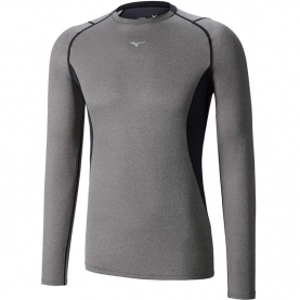 MIZUNO BREATH THERMO MAGLIA GIROCOLLO WOOL