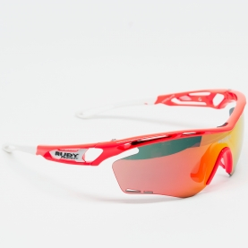 RUDY PROJECT OCCHIALE TRALYX RED FLUO ML ORANGE