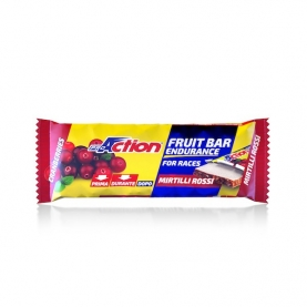 PROACTION BARRETTA ENERGETICA FIT FRUIT BAR MIRTILLI ROSSI