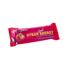 SYFORM BARRETTA ENERGETICA SYBAR ENERGY FRUIT FRAGOLA