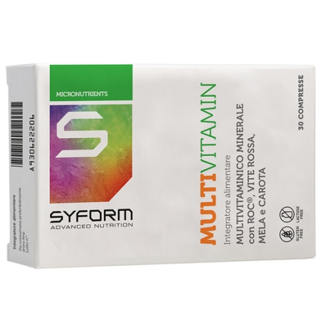 SYFORM MULTIVITAMIN 30 CPR