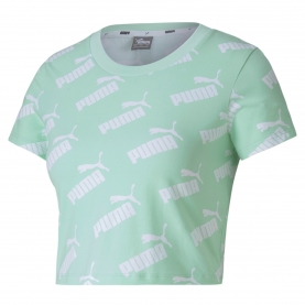 PUMA MAGLIA AMPLIFIED AOP FITTED DONNA
